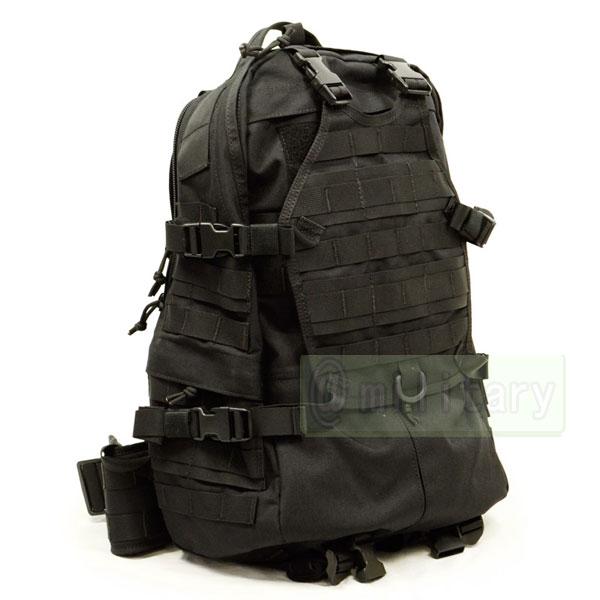 130aa124ae84 1000D ナイロン製 FAST EDC MOLLE バックパック ブラック   SAMURAI