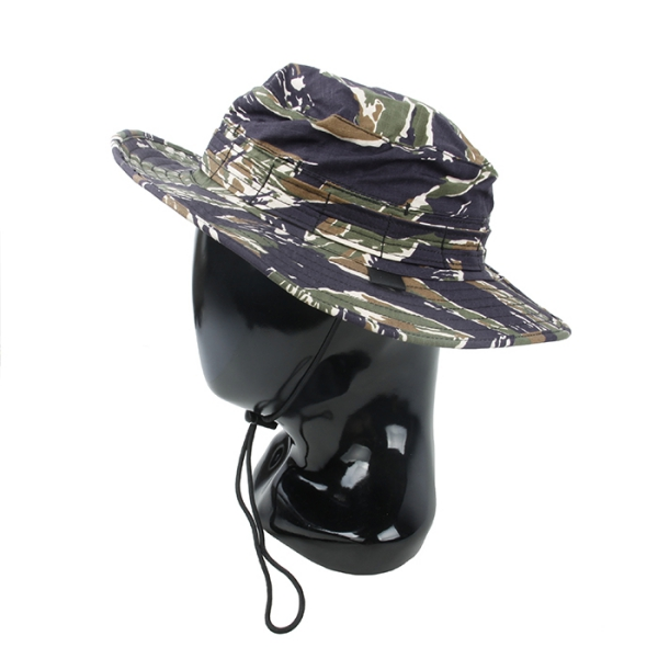 TMC Airvent Bonnie Hat ( Blue Tigerstripe )