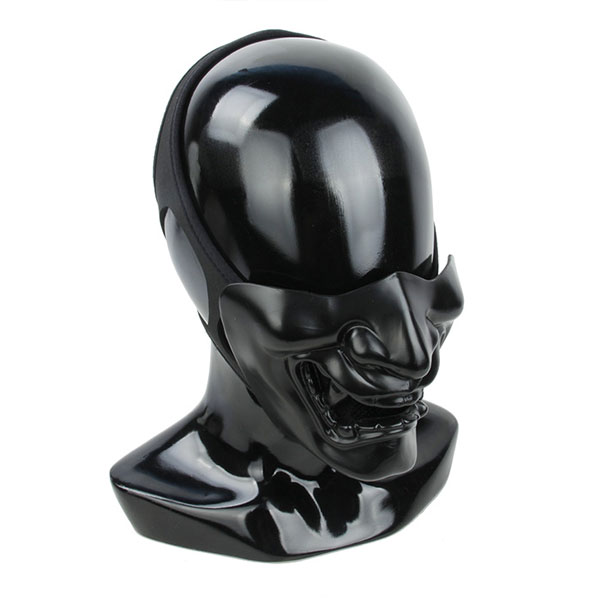 TMC Samurai Mask ( Full Black  )