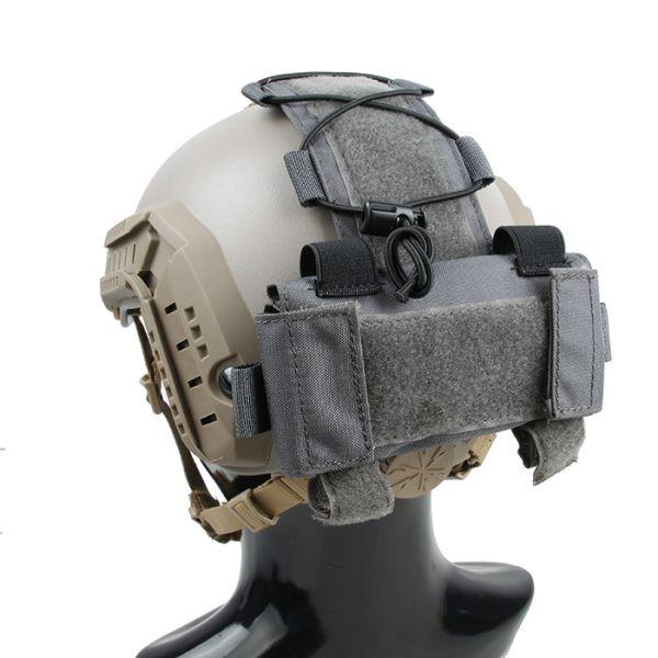 TMC MK1 BatteryCase for Helmet ( Wolf Grey )