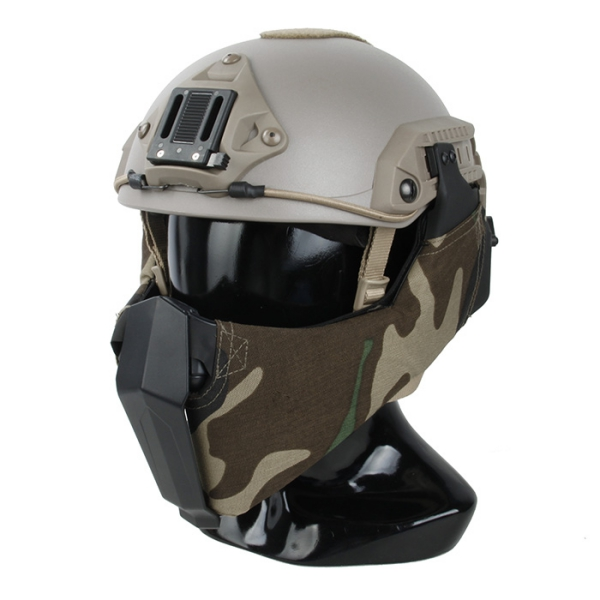 TMC MANDIBLE for OC highcut helmet ( Woodland )