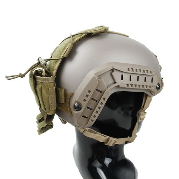 TMC MK3 BatteryCase for Helmet ( Khaki )