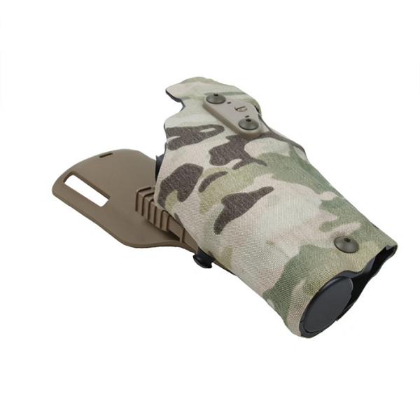 TMC 63DO Holster for G17 18 with QL Mount ( Multicam )
