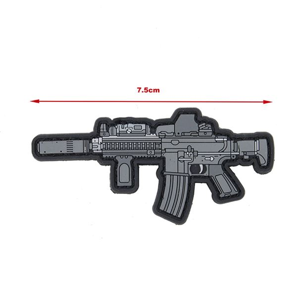 TMC PVC Patch - Black PMAC