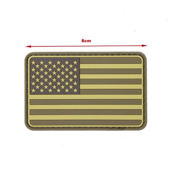 TMC PVC Patch ( USA Flag DE )