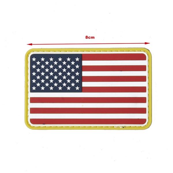 TMC PVC Patch ( USA Flag )