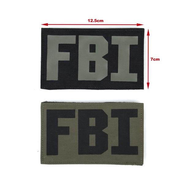 TMC Patch -FBI Set