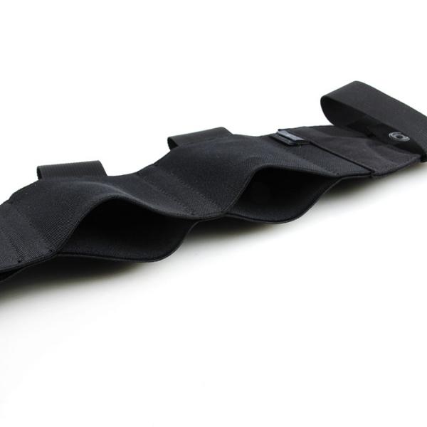 TMC Elastic & Mag Pouch Cummerbun ( Black )
